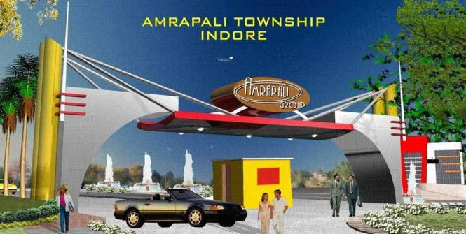 Amrapali Modern City Plots Main Other