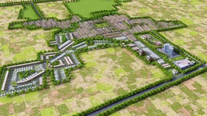 Amrapali Modern City Villa Layout Plan