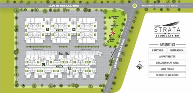 Savvy Strata Site Plan