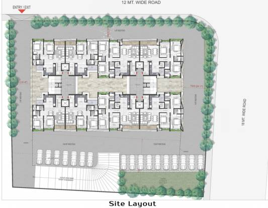 Unity Domain Heights Site Plan