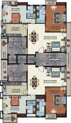 Shalimar Nest Cluster Plan