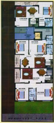 IBIS Classic Apartments Cluster Plan