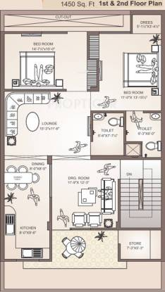 Balaji Shyam Residency Cluster Plan