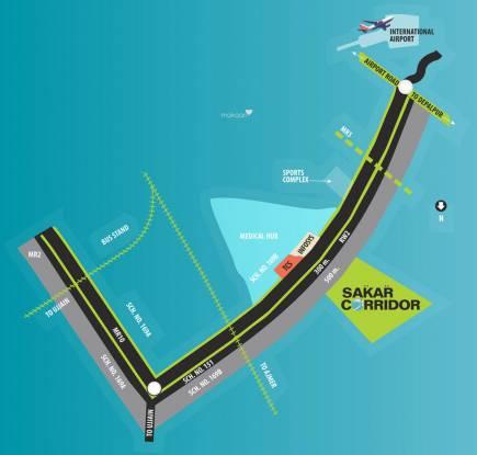 Sakar Corridor Location Plan