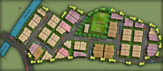 Bhola Homes Layout Plan