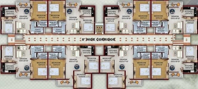Laxmi Enclave Cluster Plan