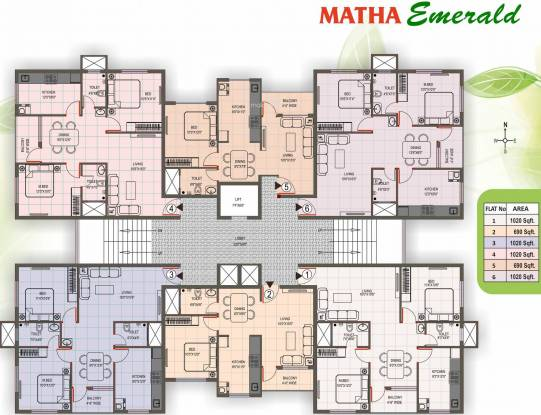 Matha Emerald Cluster Plan