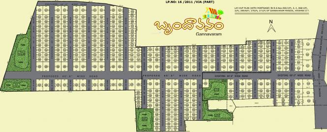 Sai Brundavanam Layout Plan