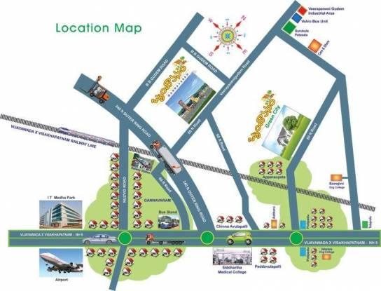 Sai Brundavanam Location Plan