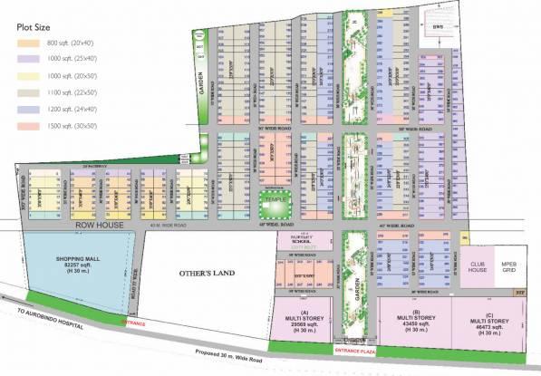 SBD Shri Brijdham Layout Plan