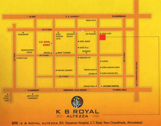 KGB Kb Royal Altezza Location Plan