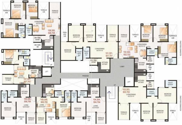 GK Rose E Mehar Cluster Plan