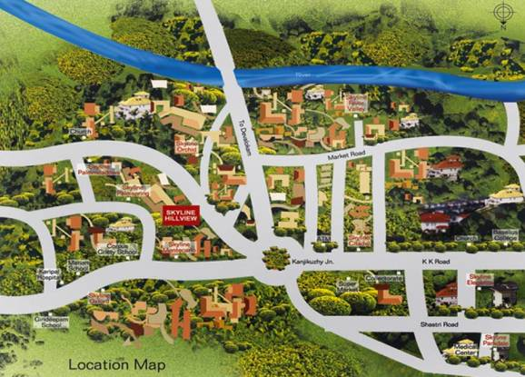 Skyline Hill View Location Plan