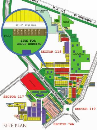 TDI Casa Floors Site Plan
