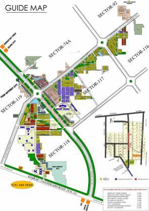 TDI City Plots 1 Site Plan