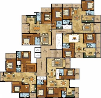 Vista Auburn Cluster Plan