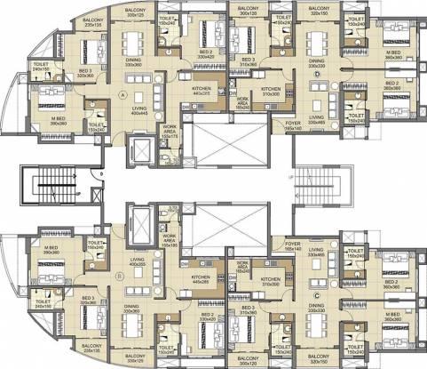 Skyline 24 Carat Cluster Plan