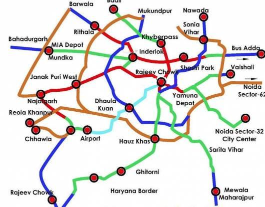 Indian Hindusta Location Plan