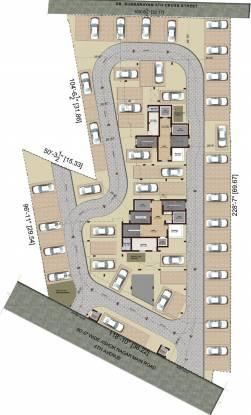 Kgeyes Veda Ranghaa Nivas Cluster Plan