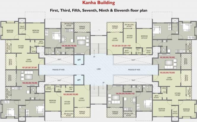 Vainateya Vrindavan Srushti Cluster Plan