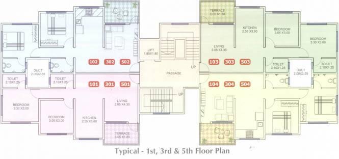 Krishna Heights Cluster Plan