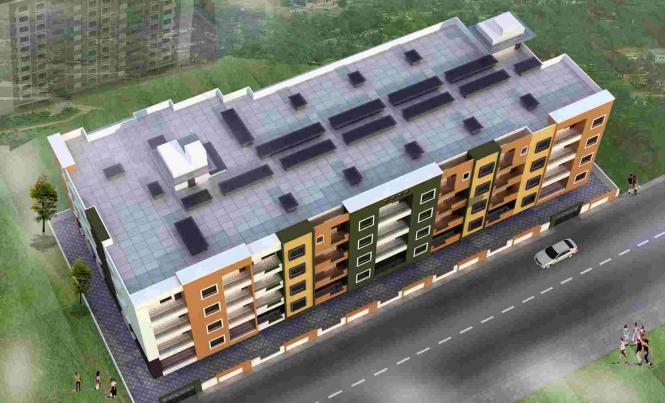 Ashirwaadh Sai Ashirwaadh Paradise Block II Elevation