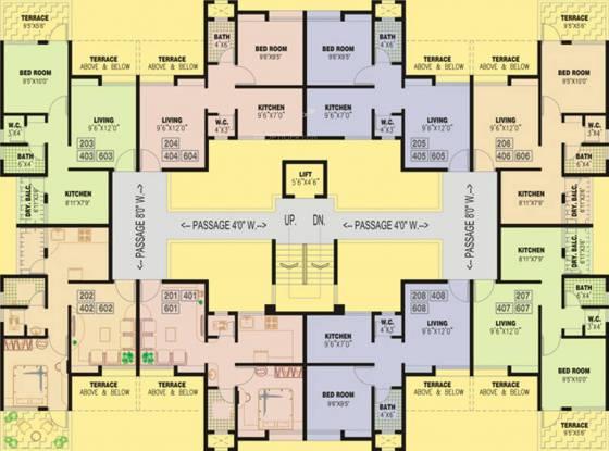 Windsor Swapna Sankul Cluster Plan
