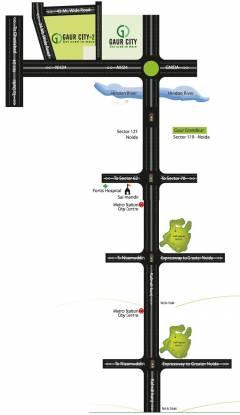 Gaursons 7th Avenue Location Plan