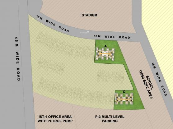 Gaursons 7th Avenue Site Plan