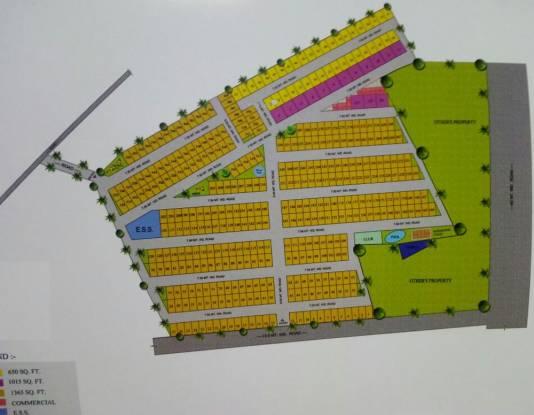 Renowned Lotus Villas Layout Plan