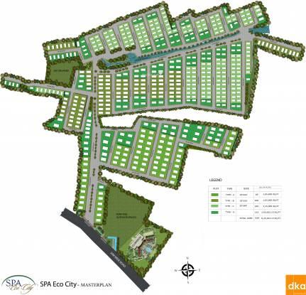 SPA Eco City Layout Plan