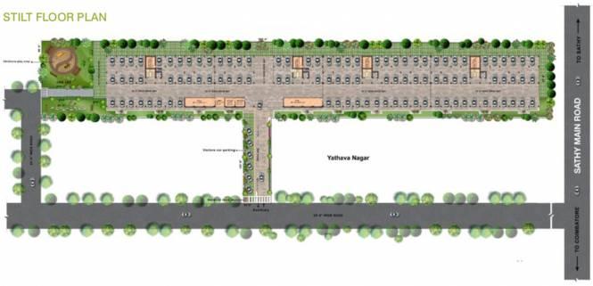 Vishwasri Oak Park Cluster Plan