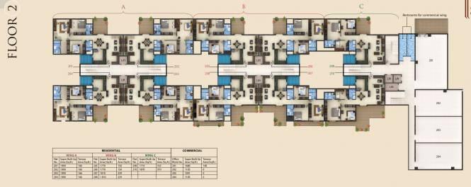 Golechha Mangalam Shraddha Cluster Plan