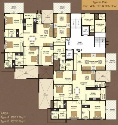 Nanik A Square Cluster Plan