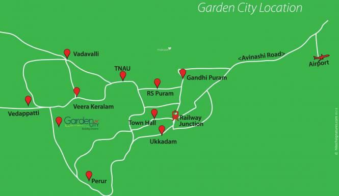 Town Garden City Location Plan