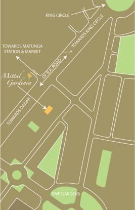 Mittal Gardenia Location Plan