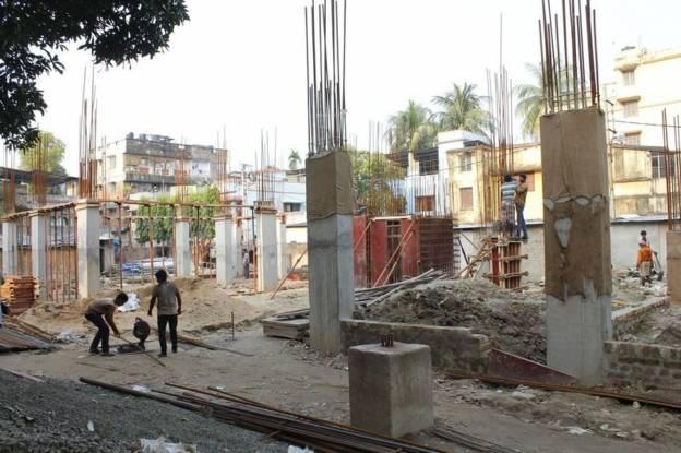 Unimark Sikha Tuku Construction Status