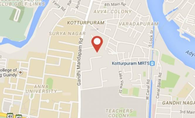 Rajparis Iswaryam Location Plan