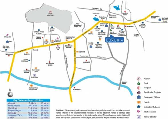 Mulik Luxuria Location Plan