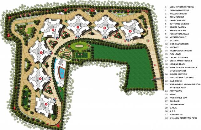 Rama Melange Residences Master Plan