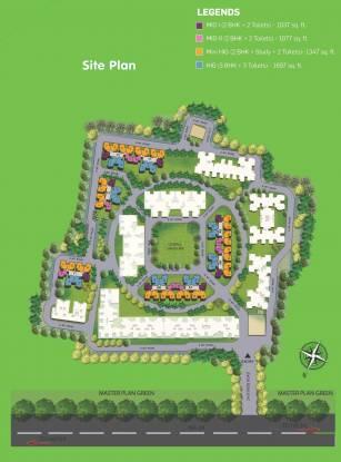 Panchsheel Premium 24 Site Plan