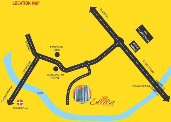 Sun Elecasa Location Plan
