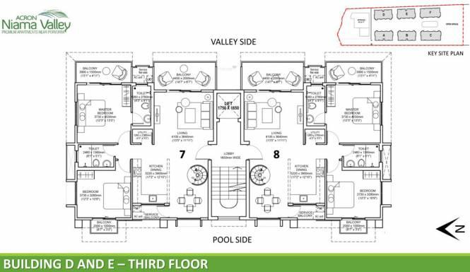 Acron Niama Valley Cluster Plan