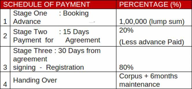 Chennai Aishwaryam Payment Plan