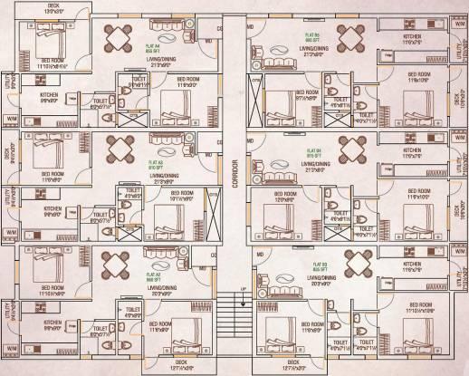 Oyester Mullaivanam Cluster Plan