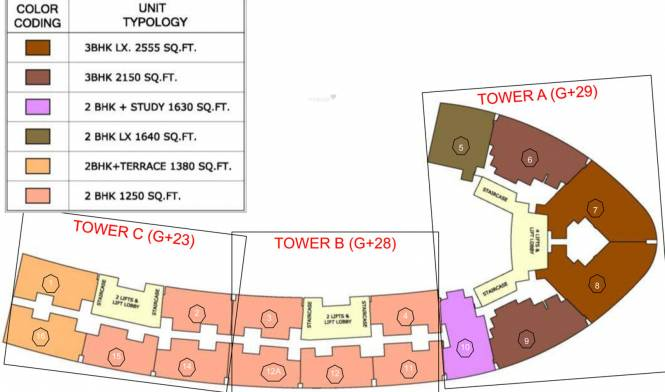 Home and Soul F Premiere Layout Plan