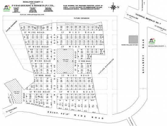 PS Revolution County 2 Master Plan