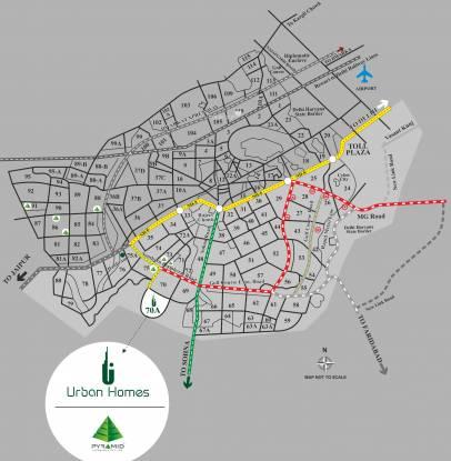 Pyramid Urban Homes Location Plan
