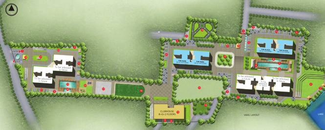 Sobha The Park And The Plaza Master Plan