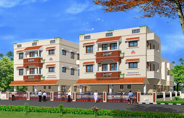 Himayam Annapoorna Apartments Elevation